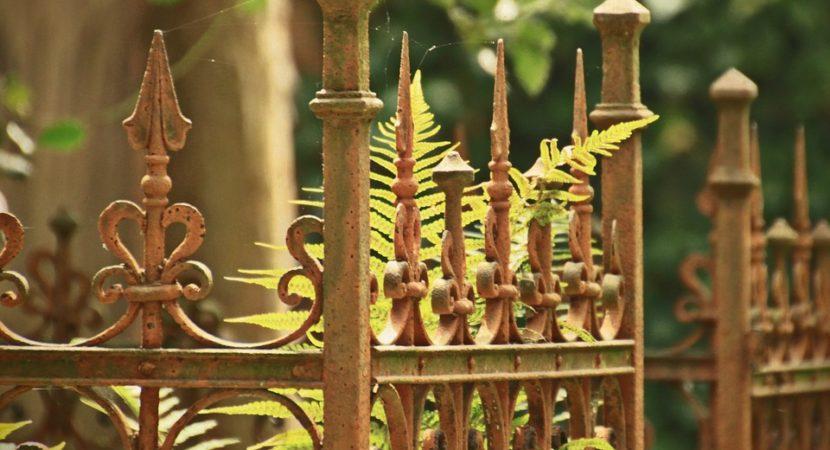 słupki ogrodzeniowe